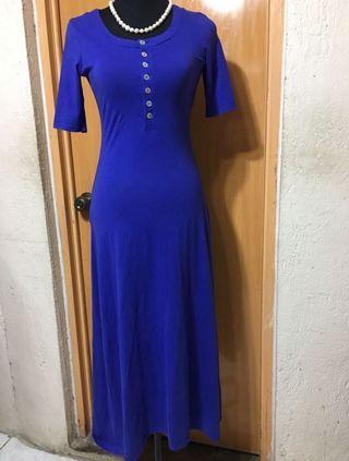 Authentic ARMANI JEANS Cotton Maxi Dress