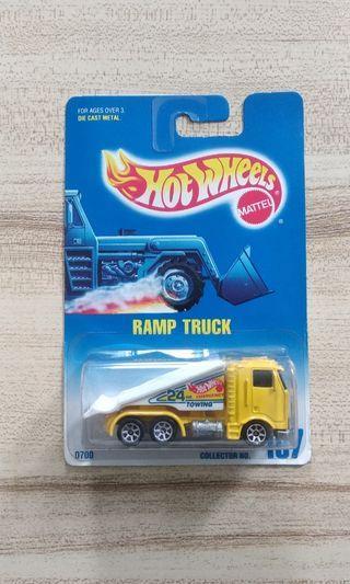 Hotwheels Ramp Truck
