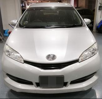Toyota Wish for rent!