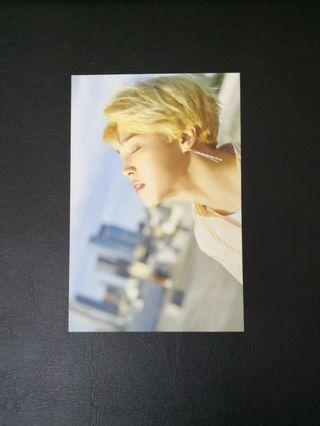 Wts official Jimin letter and postcard