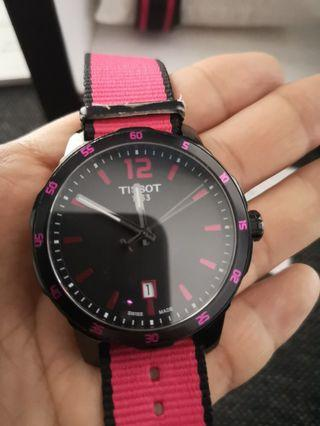 Tissot watch with 3 strap