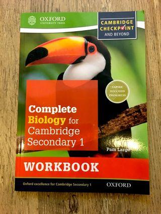 Complete Biology for Cambridge IGCSE Work Book