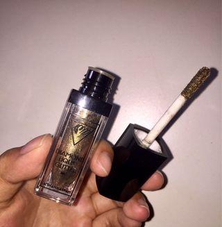 Liquid Glitter Eyeshadow - Gold Khaki