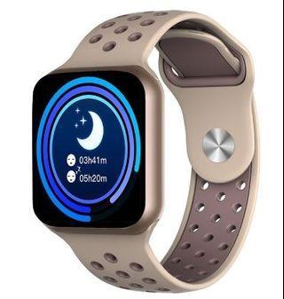 Kongsi:  Favorite (442) 👑NEW F8👑 Smart Watch 1.44 inch OLED Screen Smartband Waterproof Bracelet TFT Card Large Screen Men Watch
