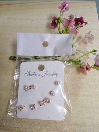Earrings 3pairs
