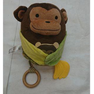 猴子造型嬰兒床娃娃