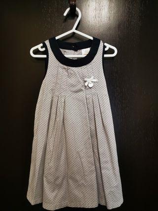 Trudy & Teddy Grey party Dress