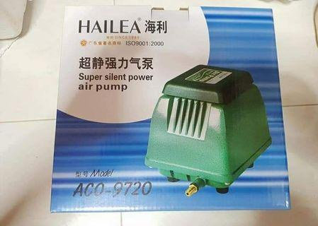 SUPER SALES !!! Strong & Silent Air pump V20- 20litre /min -$50 , ACO 9720 Hailea 30Litre/min fish tank air pump-$72 Add $6 for a 4 way stainless steel outlet  PM Me For video Of Actual Effect!!!  c/w 6months warranty!!!