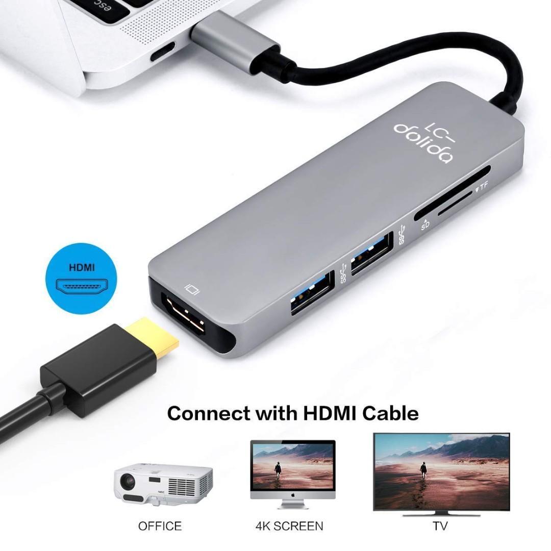 1928) LC-dolida USB C Hub