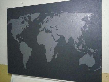 Luoisan Peta Dunia