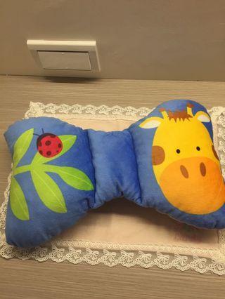 蝴蝶型 小可愛幼兒使用的小小枕頭