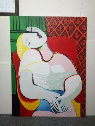 Lukisan Repro handmade Pablo Picasso