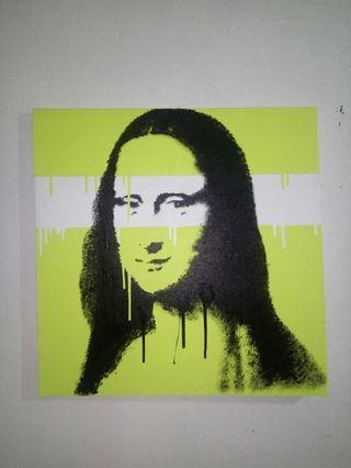 Lukisan Pop Art Mona Lisa