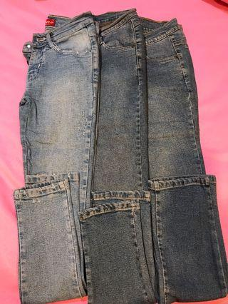TAKE ALL 3pcs Jeans