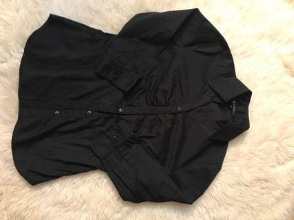 Net Black Shirt