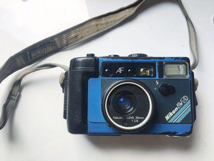 Nikon AW AD 35mm f2.8定焦 防水底片相機