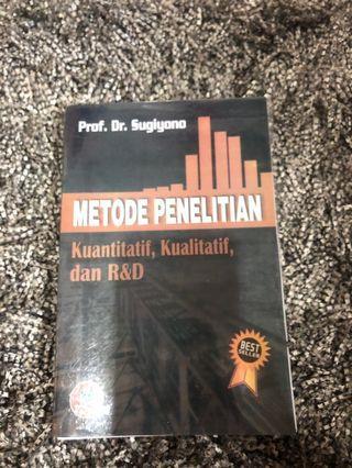 Metode Penelitian prof Sugiyono 2016