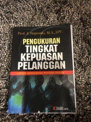 Pengukuran tingkat kepuasan pelanggan Prof Suparanto