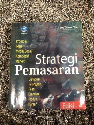 Strategi Pemasaran Fandy Tjiptono Buku