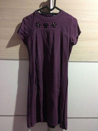 """""""Simplicity"""" Purple Dress"""