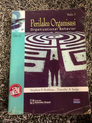 Perilaku Organisasi Organizational Behavior