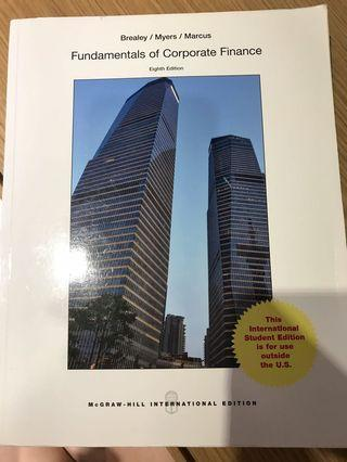 Fundamentals of Corporate Finance 第8版