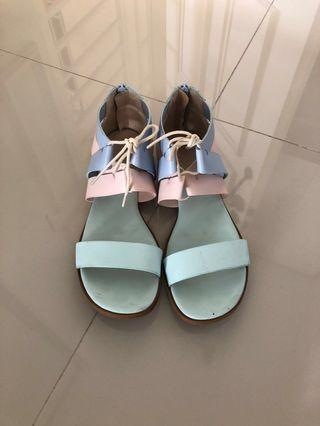 Charles & Keith Sandals (Pastel)