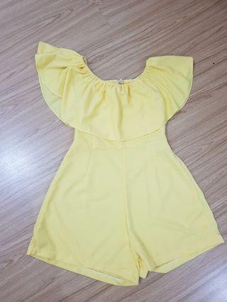 Jumpsuit Sabrina Yellow