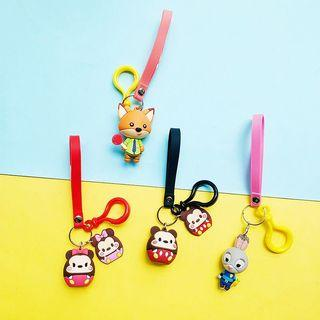 [po] Cute Sanrio Disney Keychains