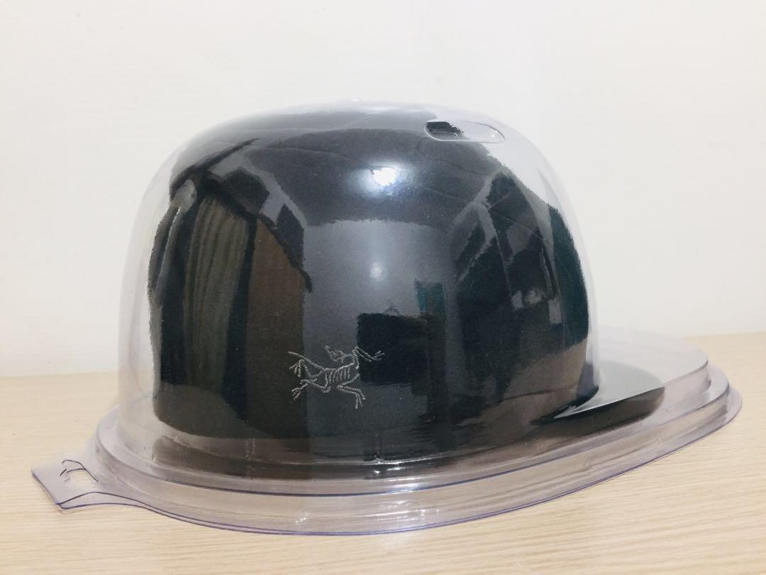 附帽盒 ARC'TERYX 始祖鳥 🇨🇦刺繡彈性頭帶捲折短帽簷帽 價值$1280 頭圍57cm驗貨參圖 登山戶外