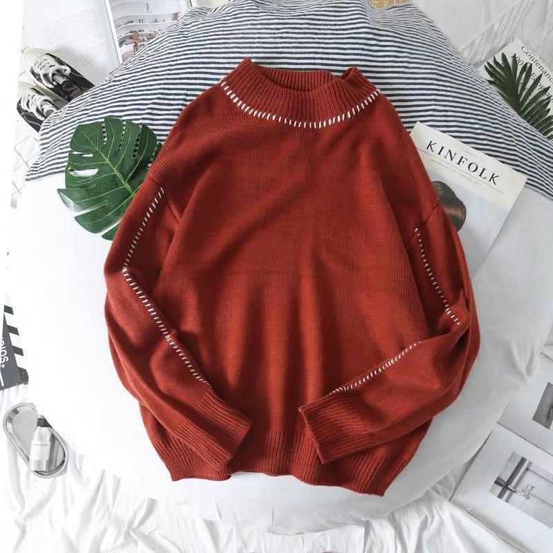 🆕🇰🇷🇨🇳🍁 autumn basic knit sweater