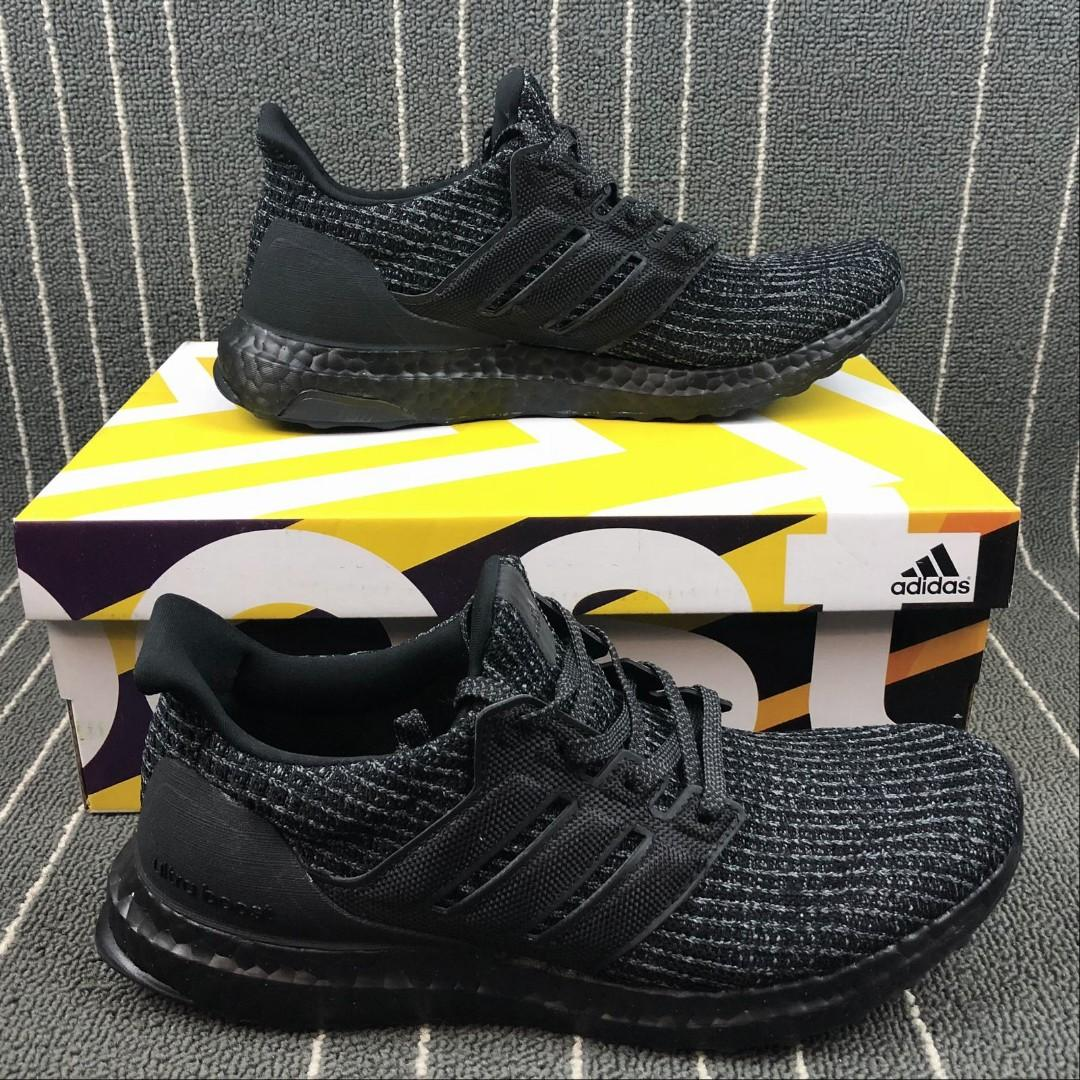 Adidas Ultra Boost UB 4.0 Triple Black