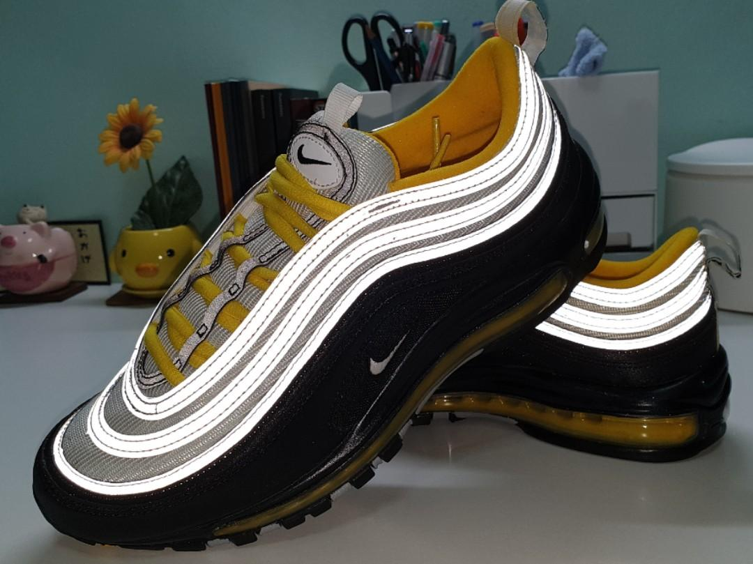 Nike Air Max 97 Black And Yellow Men S Fashion Footwear