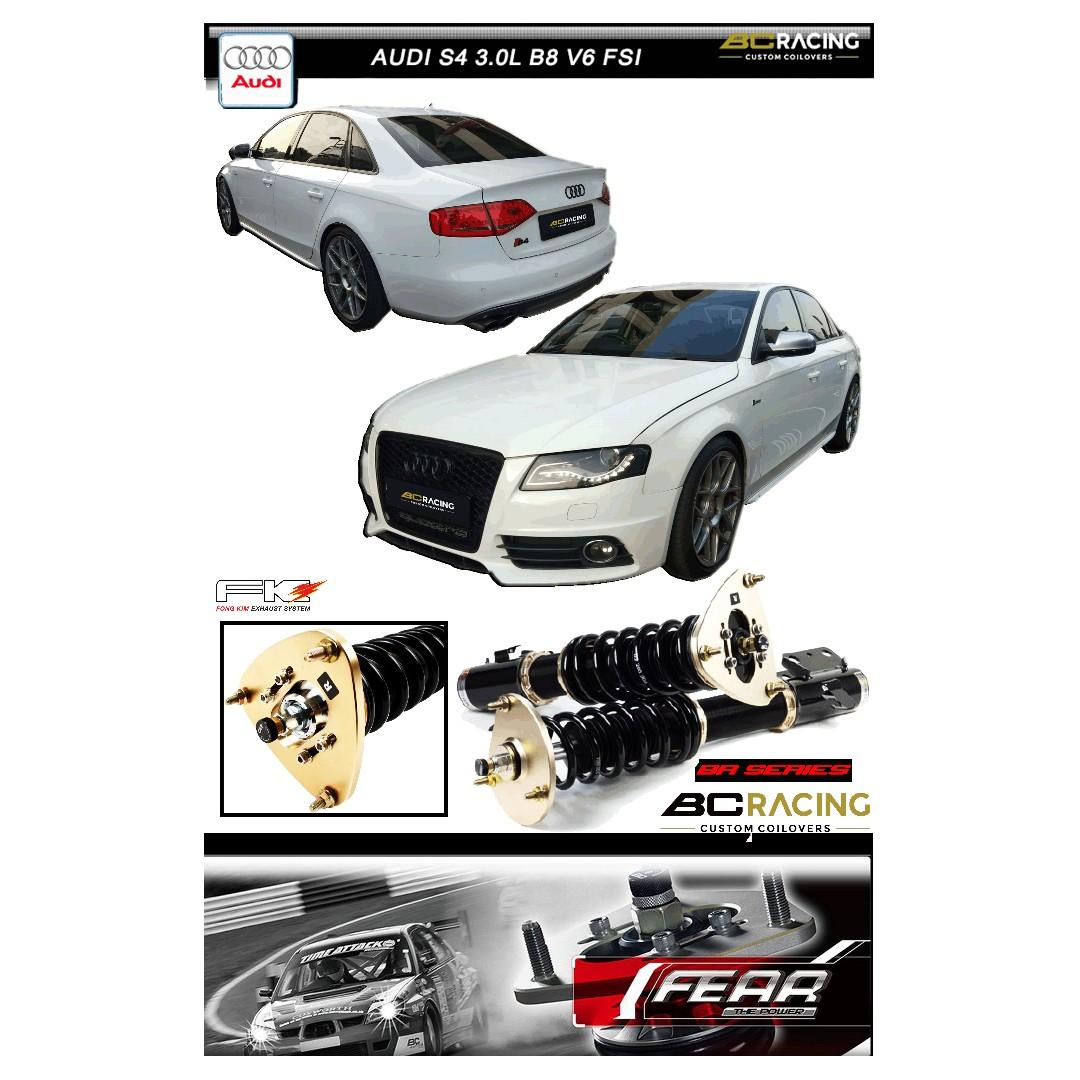 AUDI S4 3.0L B8 V6 ( BC (BR) series coilovers )