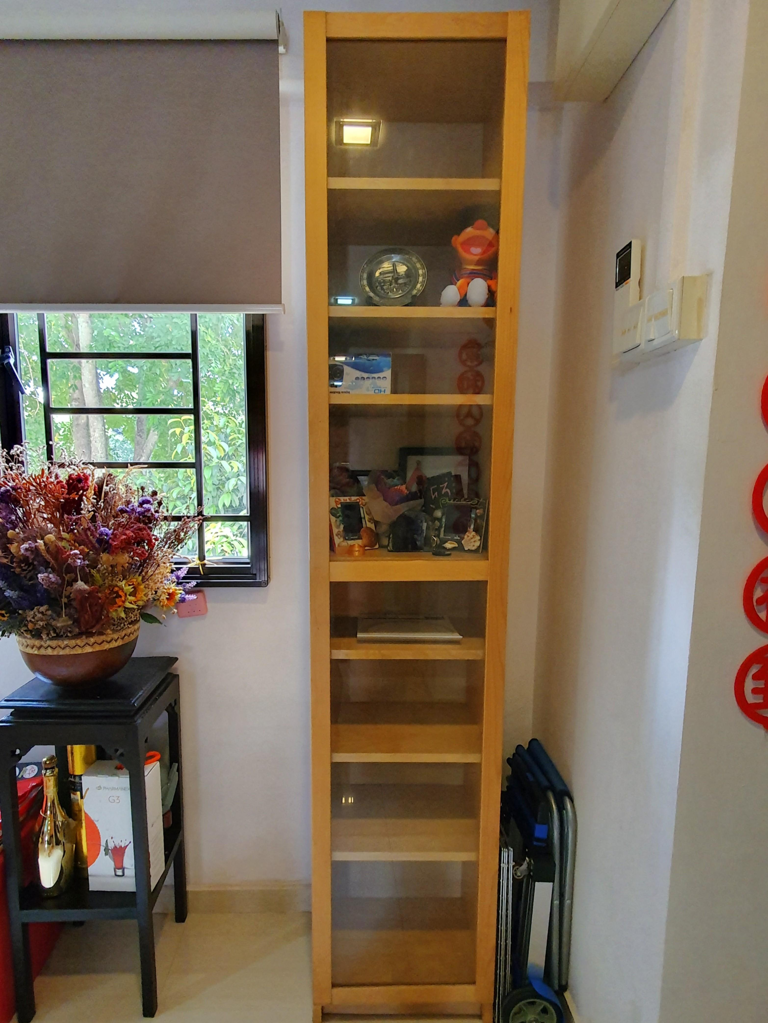Billy Bookcase With Panel Glass Door Furniture Shelves