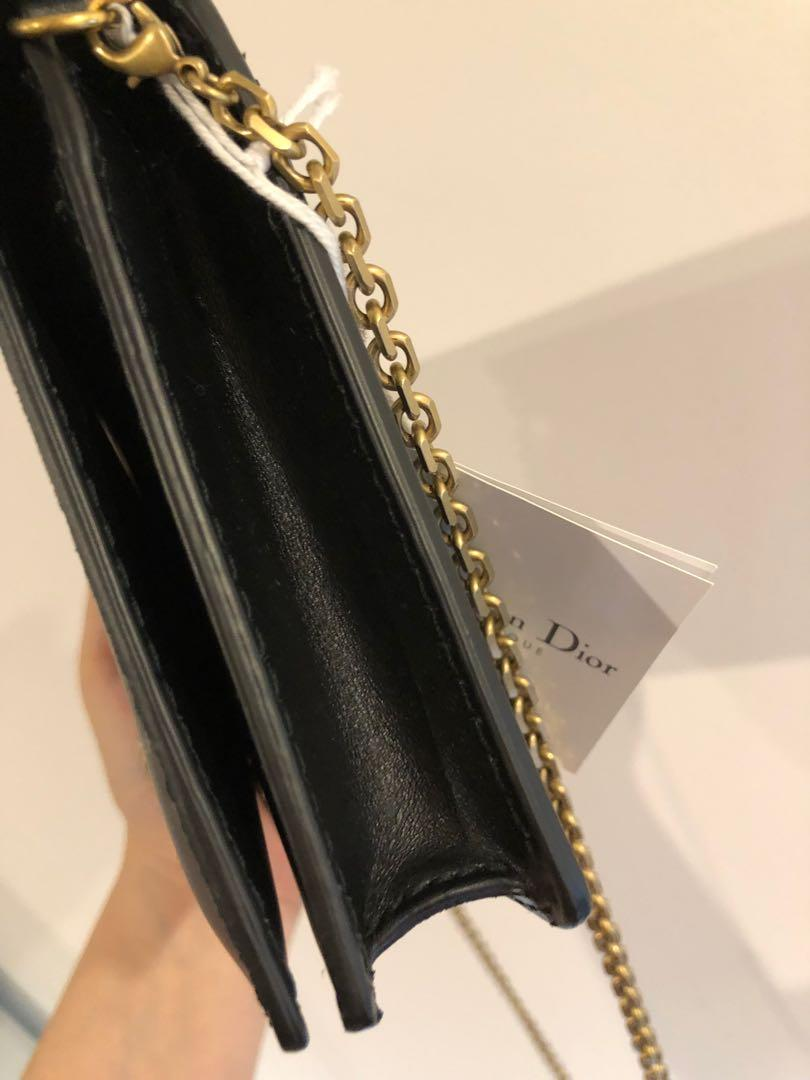 Brand new AUTHENTIC Dior J'adior wallet on chain handbag signature RRP$2500