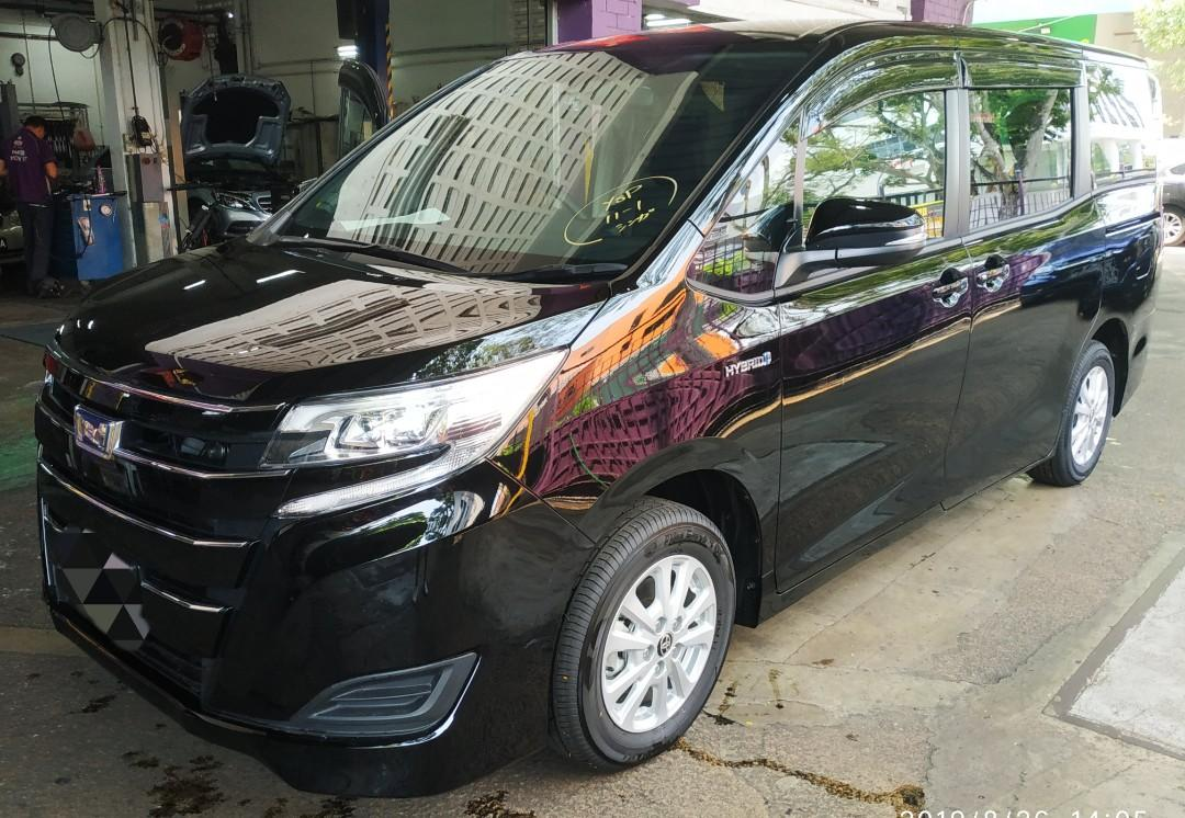 Brand New Toyota Noah Hybrid 2019 Available for rent