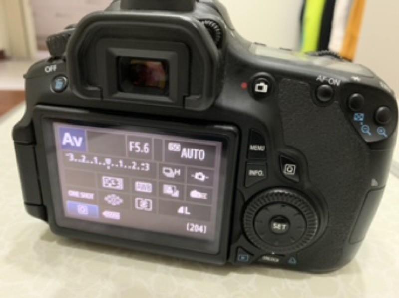 Canon 60d +Lensa 18-55