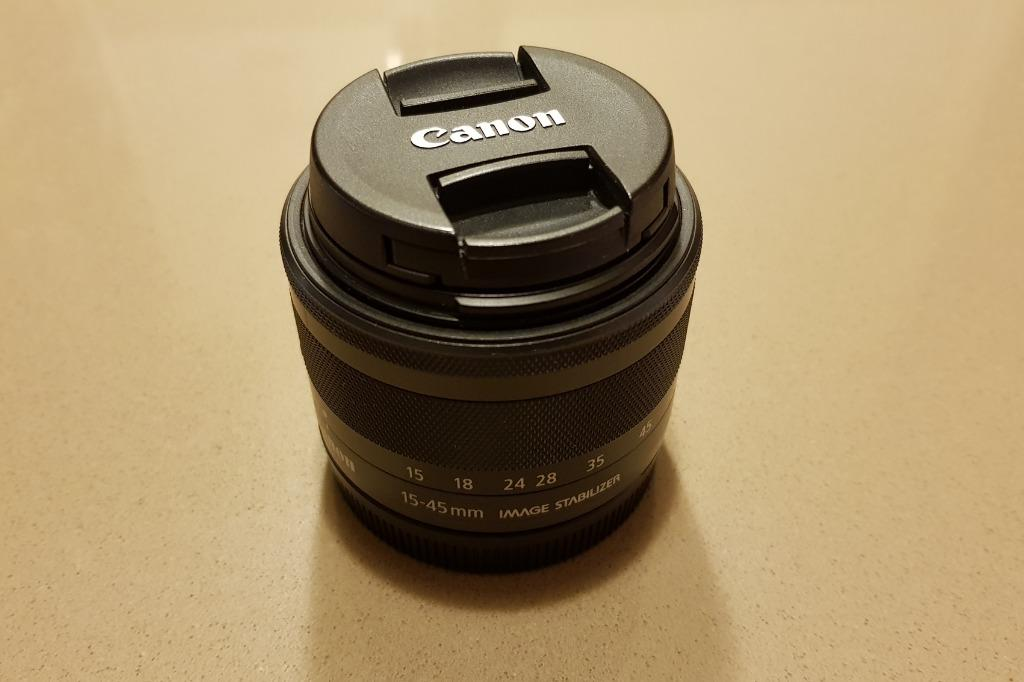 Canon EOS M5 With EF-M 15-45mm f/3.5-6.3 IS STM Lens.