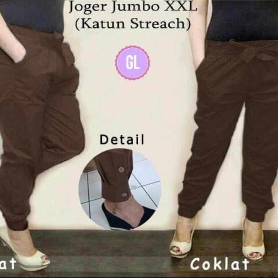 celana jogger/celana bigsize/celana jumbo/jogger wanita/kulot