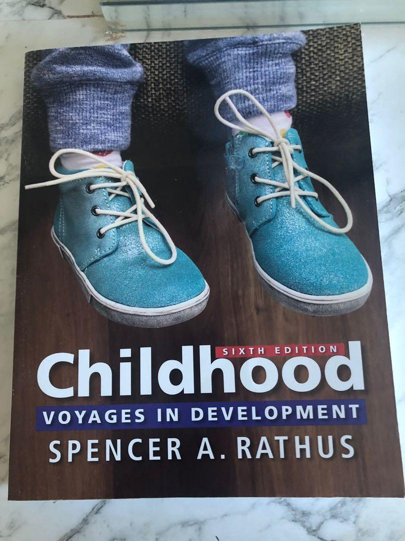 Childhood : Voyages in Development, 6th Edition - Spencer A. Rathus