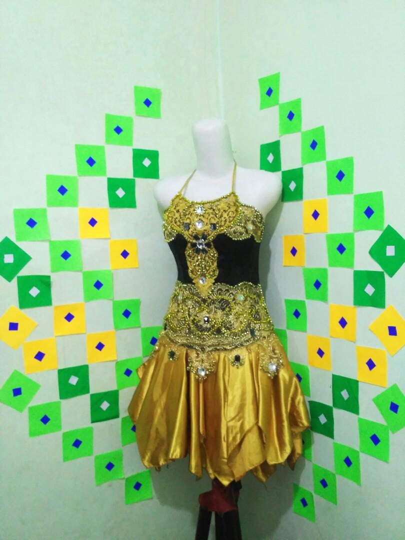 Stage Dress (gold)