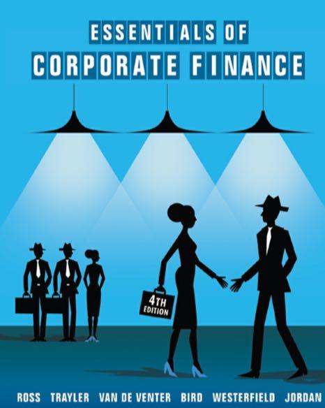 Finance textbook - Essentials of Corporate Finance 4th edition