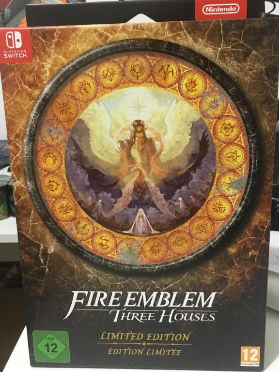 Fire emblem three houses Limited Edition UK