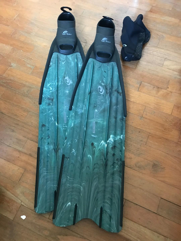 Freediving long fins - Rob Allen Scorpia Evolution long ...