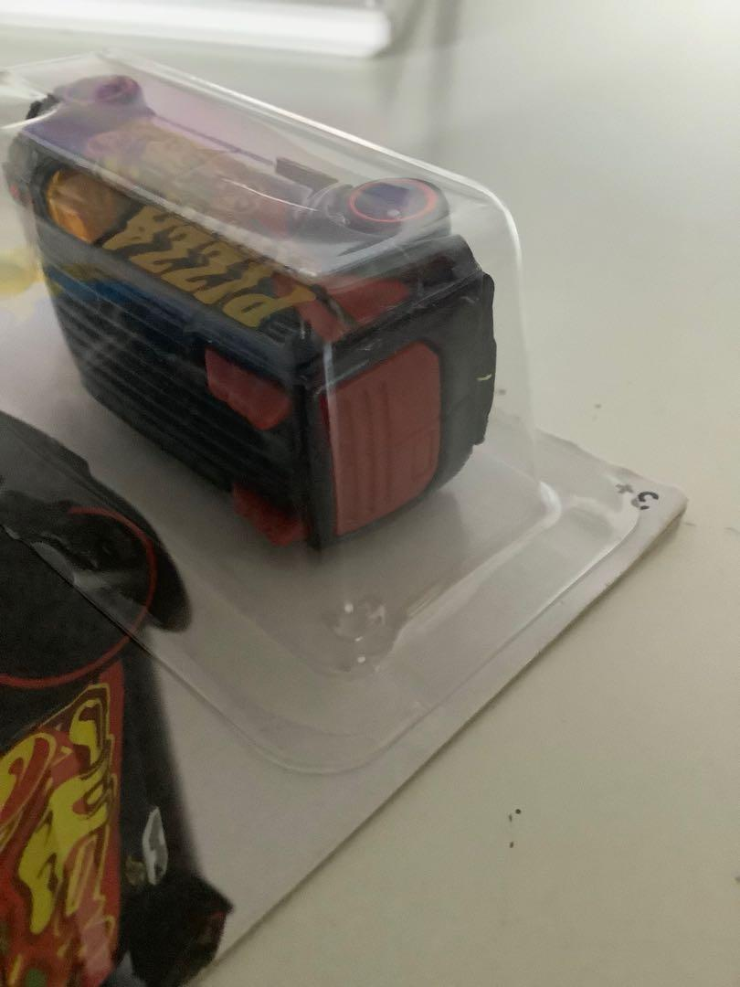 Hot wheels 2015 treasure hunt ford transit connect rare limited edition diecast car