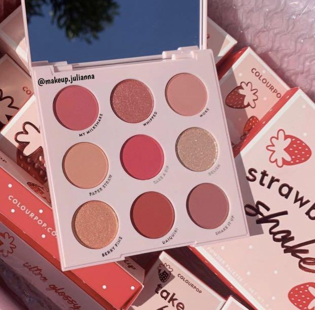 ✨Instock✨Colourpop Strawberry Shake Palette
