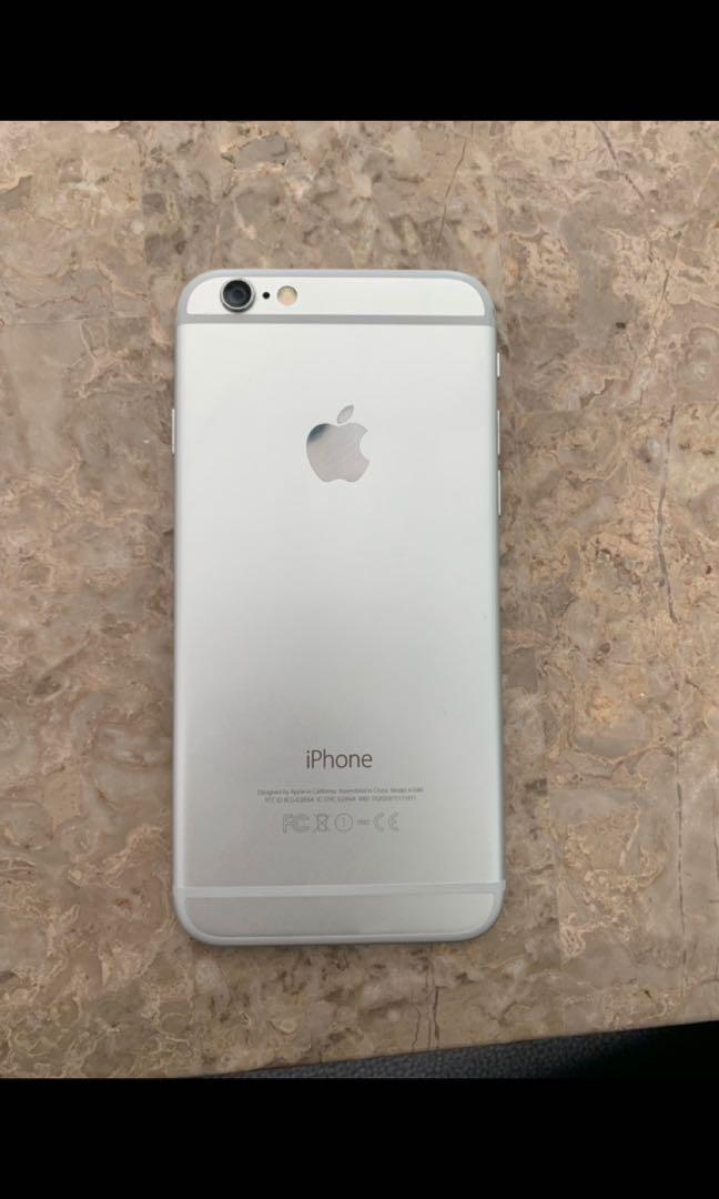 iPhone 6 Unlocked Silver 16 Gb Apple Perfect Condition