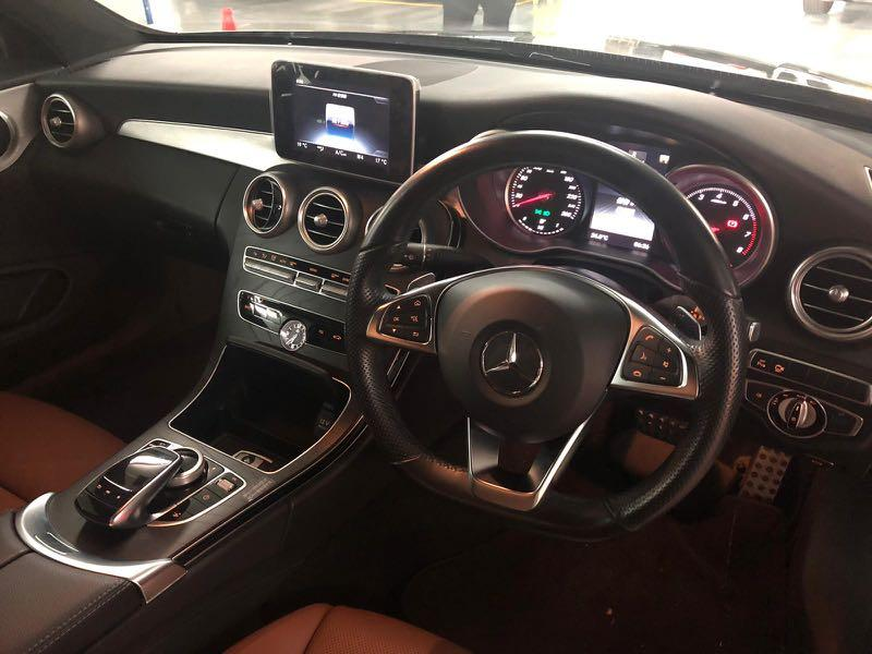MERCEDES-BENZ C250 COUPE AMG 2016
