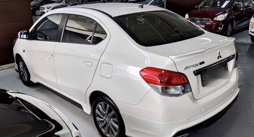 Mitsubishi Attrage 1.2 Sports CVT (A)